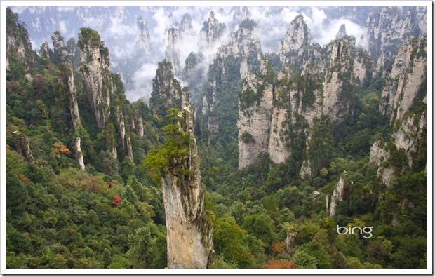 Wulingyuan National Park, Hunan Province, China