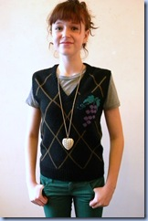 cute hipster clothes 80s sweater vest