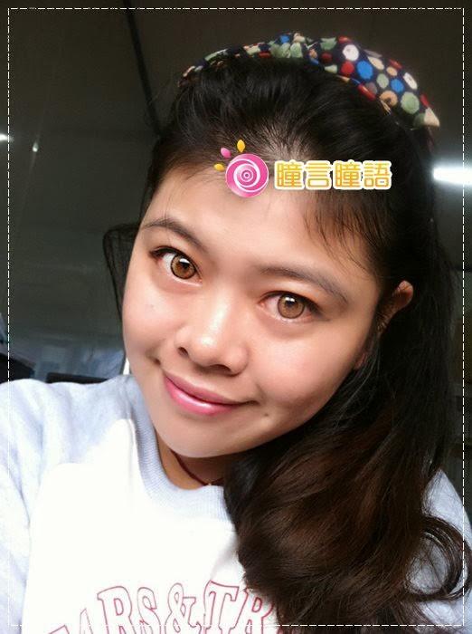 韓國GEO隱形眼鏡-GEO Holicat 荷麗貓仙女咖(Barbie Cat)18