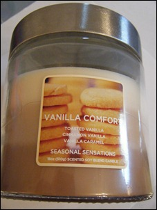 Seasonal Sensations Vanilla Comfort