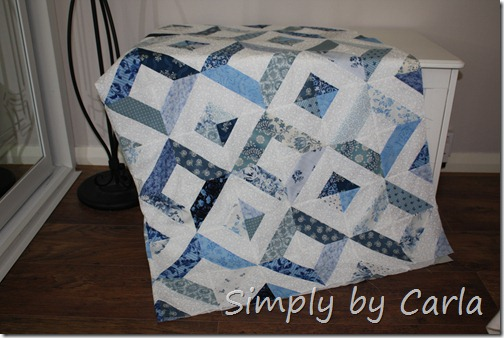Jelly Roll Quilt 004