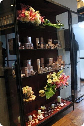 Jimmy Choo shelves