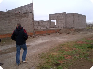 Avanza rápidamente la construcción de la Escuela de Formación Policial Juan Vucetich de La Costa