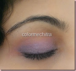 Chitra Pal Maybelline Color Tattoo in Painted Purple