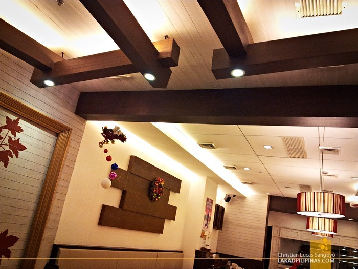 Ceiling Design of President Tea House SM North Edsa