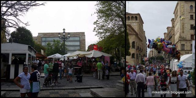 Feria revellers
