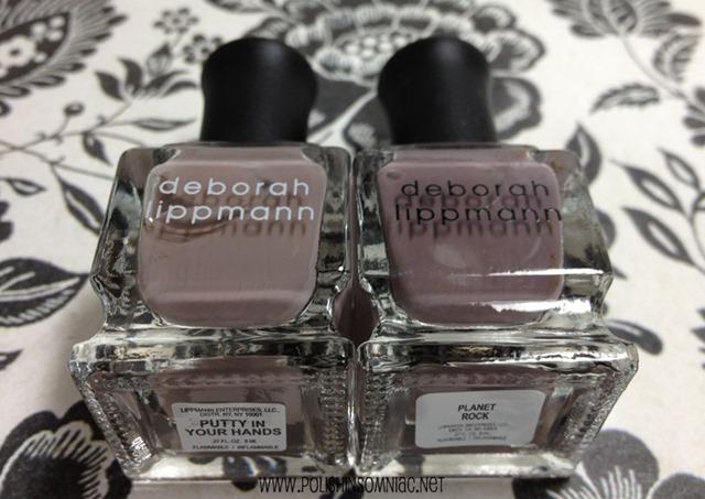 Deborah Lippmann Putty in Your Hands (She's Always a Woman) vs Planet Rock (Space Oddity)