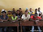 Des témoins des candidats le 28/11/2011 dans un bureau de vote au quartier Makelele dans la commune de Bandalungwa à Kinshasa, pour les élections de 2011 en RDC. Radio Okapi/ Ph. John Bompengo
