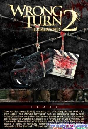 Ngã Rẽ Tử Thần Ii - Wrong Turn Ii - Dead End (2007)