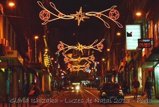 Glória Ishizaka - Luzes de Natal 2013 - Porto  11 Rua  31 de Janeiro