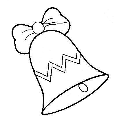 Maestra de infantil campanas de navidad para colorear for Adornos navidenos para dibujar