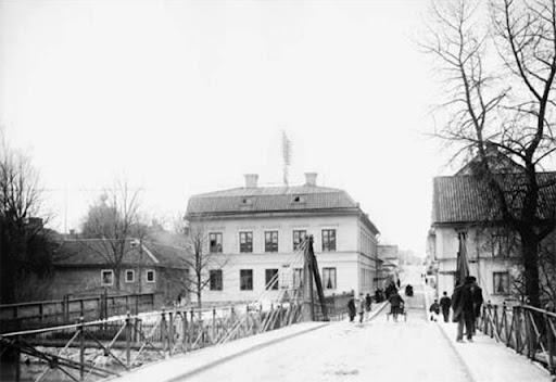Järnbron från öster 1901-1902