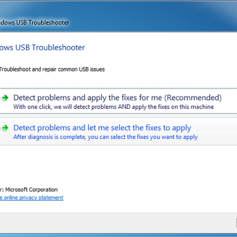 Microsoft FixIt Can Now Solve USB Ejection Problems