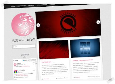 SapphireGD sfondi Linux