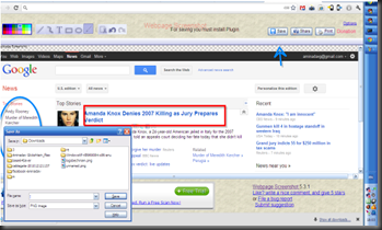 Webpage Screenshot Google chrome extension