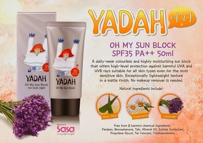 YADAH Oh My Sun Block