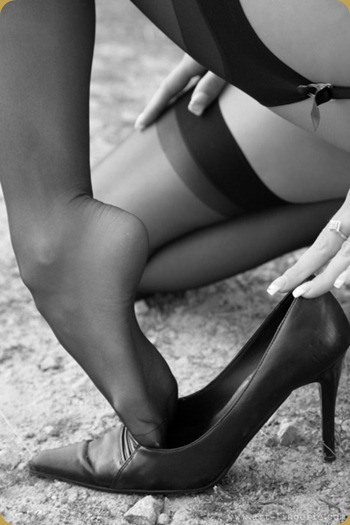 shoes stockings
