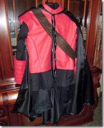 disfraz casero de águila roja