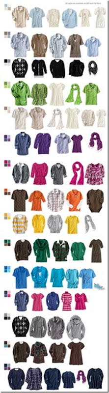 Clothing Colours