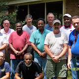 First Houston Men's Retreat in July 2009.  Held at the Holy Family Retreat Center in Beaumont, TX.