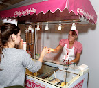 Guests could try samples and get a cone or a cup of their favorite flavor!