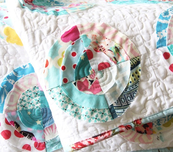 Scrappy Bullseye Quilt
