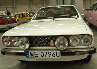 Lancia Beta Coupe, model 1974, seria I, silnik DOHC o poj. 1,6l. i mocy 108KM