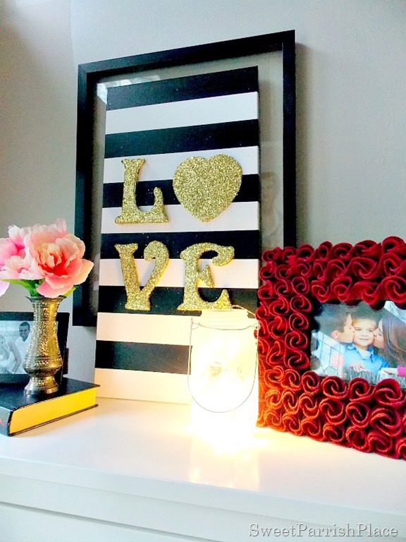 DIY Love Canvas Art6