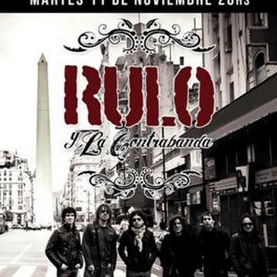 Rulo y la contrabanda en Argentina 2014, Venta de entradas: 11.11.14 Uniclub