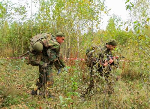 Соревнования на лучшую разведывательную группу Сухопутных войск Украины