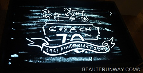 Coach 70th anniversary Singapore Sand Art