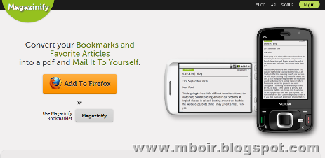 Magazinify web - mboir