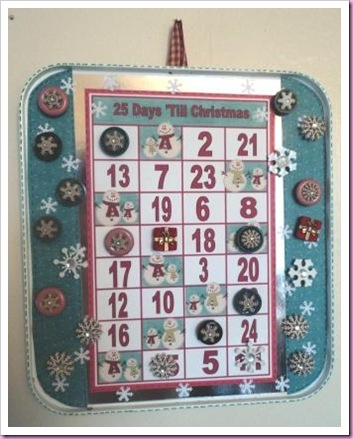 Baking Tray Advent Calendar 5