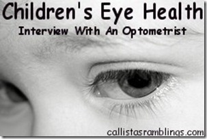 Children's Eye Health - Interview With an Optometrist