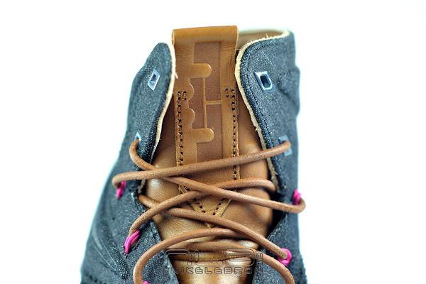 The Showcase Nike LeBron X EXT Denim QS Lace Swap
