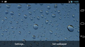 Screenshot of Rain Live Wallpaper