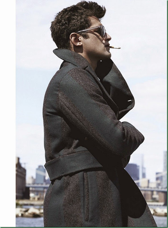 More Images of Sean O'Pry for Details October 2014