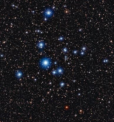 aglomerado aberto NGC 2547