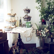 Inspiration for my final favor display! (photo courtesy from kinfolkmag.com)
