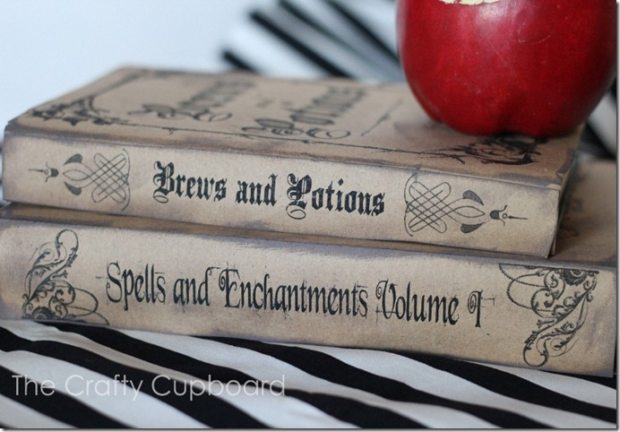 Spell Book Bindings_The Crafty Cupboard