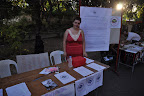 tabling for solidarity healthcare. photo credit: Eric Ribellarsi