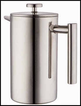Mira Small Stainless French Press 01