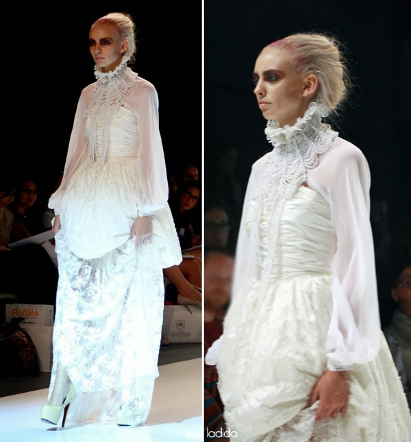 Raffles Graduate Fashion Show 2013 - Skye Hay (2)