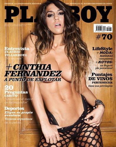 Para ver todas las fotos de Cinthia Fernández en Playboy Argentina