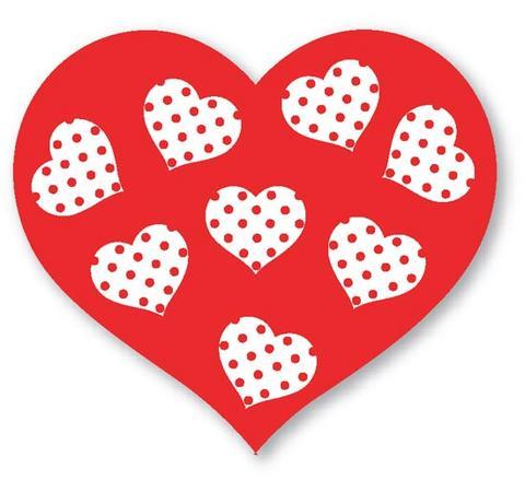 Moldes de corazones | Moldes