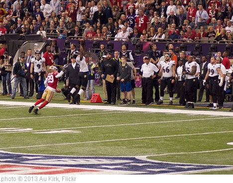 'Anquan Boldin Catch During Super Bowl XLVII' photo (c) 2013, Au Kirk - license: http://creativecommons.org/licenses/by/2.0/