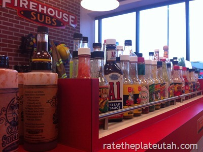 Firehouse Subs Sauces
