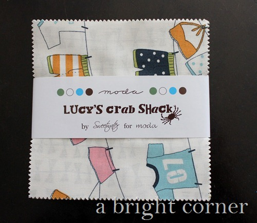 Lucy's Crab Shack Charm Pack