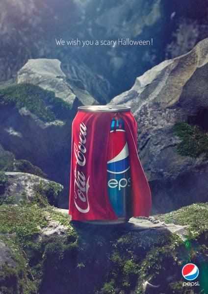Creatividad publicitaria pepsi