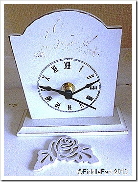 Poundland Clock Mother's Day Range